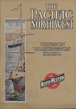 Chicago and North Western Historical Society - Front Cover of 1908 Pacific Northwest Tour Guide