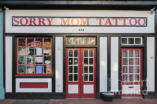 Front Facade of Tattoo Parlor by Thomas Marchessault