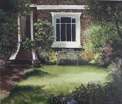 Front Garden Trafalgar Rd London by Lizzy Forrester