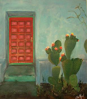 Front Porch Old El Paso by Tinsu Kasai