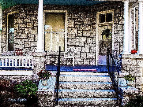 Front Porch by Randy Sylvia