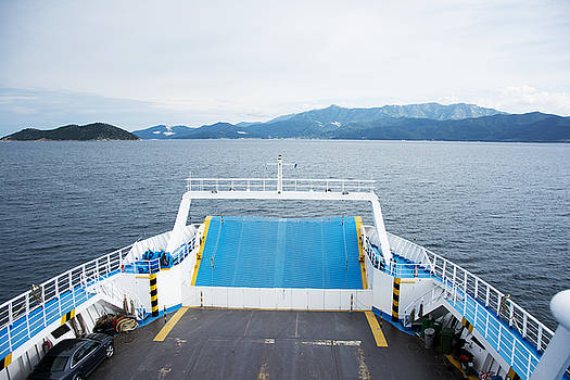 Newnow Photography By Vera Cepic - Front side of a ferry