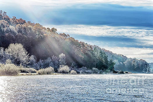 Frost at the Lake by Thomas R Fletcher