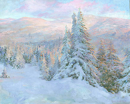 Frosty Evening by Denis Chernov