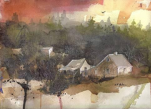 Frosty Morn by Robert Yonke