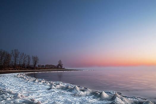 Frosty morning by Crystal Socha