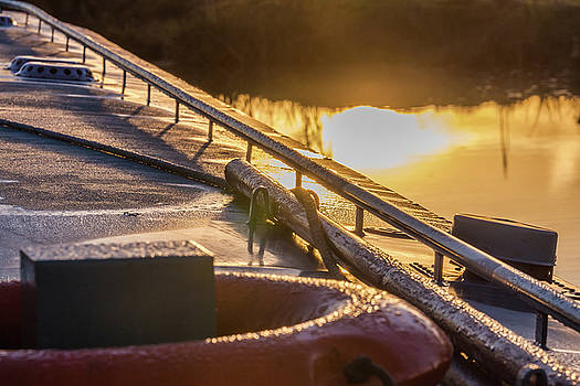 ReDi Fotografie - Frosty Morning on a Narrowboat