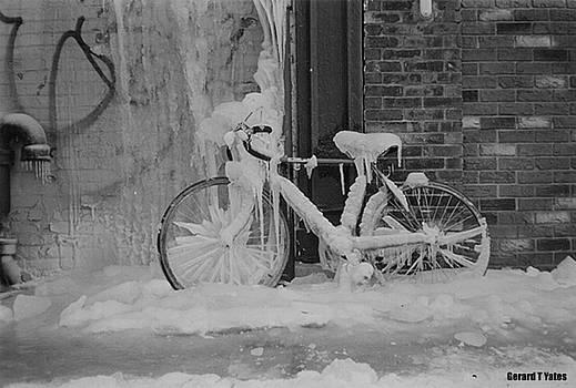 Frozen Bike by Gerard Yates