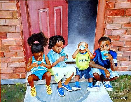 Frozen Cups by Gwendolyn Frazier