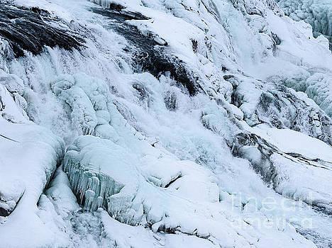 Frozen Gullfoss In Winter by Benjamin Wiedmann