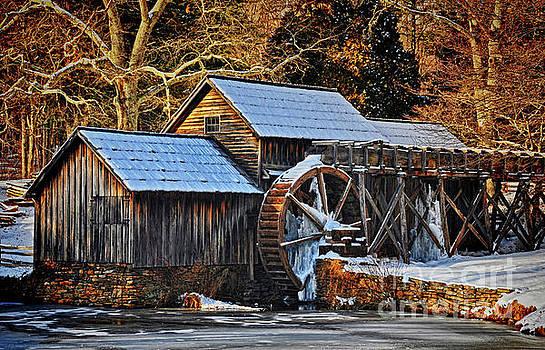 Frozen Mill by Randy Rogers