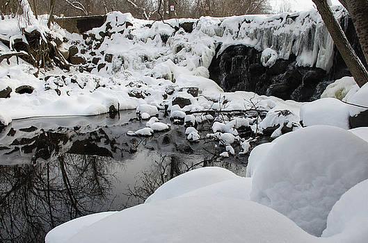 Frozen Waterfall by Nikki McInnes