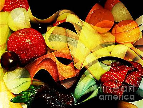 Fruit Abstract 2 by Kathleen Struckle