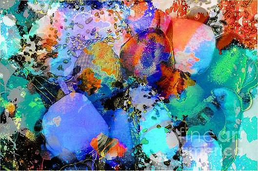 Fruit Abstract by Kathleen Struckle