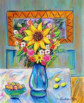 Fruit and Flowers by Andrea Folts