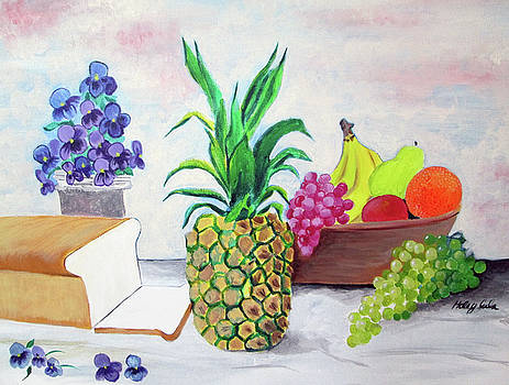 Fruit and Flowers by Haley Jula