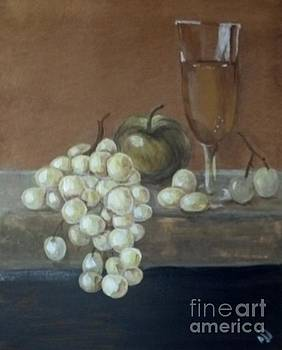 Fruit and Wine by Saundra Johnson