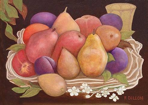 Fruit Basket by Frances  Dillon
