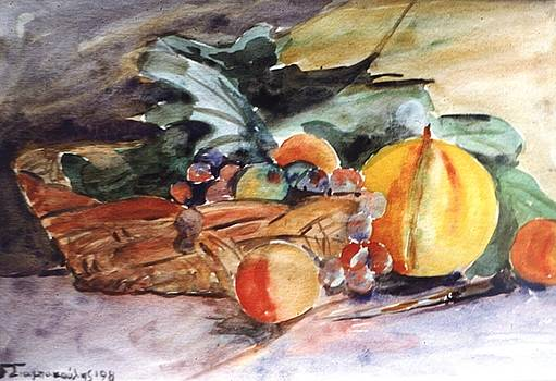 Fruit basket by George Siaba