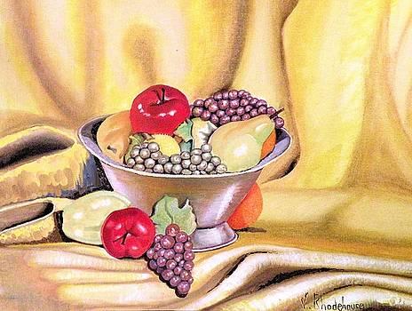 Fruit Basket by Victoria Rhodehouse