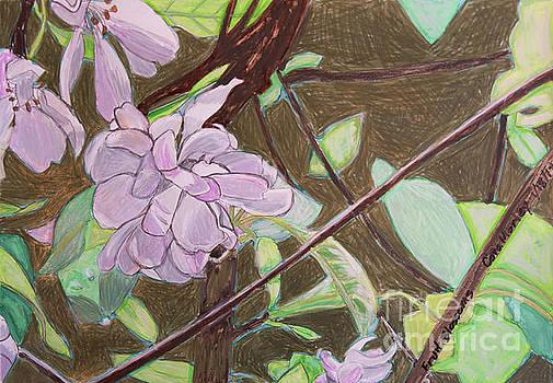 Fruit Blossoms by Cora Eklund