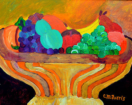 Fruit Bowl 1 by Christopher M Farris