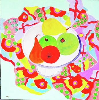 Fruit Bowl by Martin Silverstein
