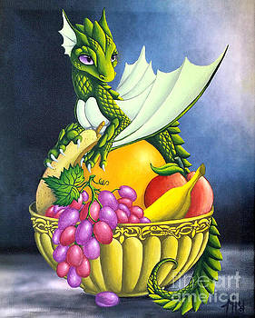 Fruit Dragon by Mary Hoy