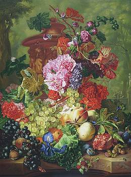 Fruit Piece, 1722 by Jan van Huysum by William Roberts