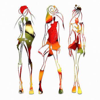 Fruit Salad Runway Models by Marvin Blaine