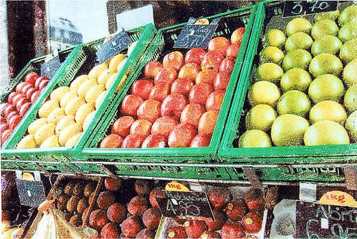 Fruit Stand by Bob Senesac