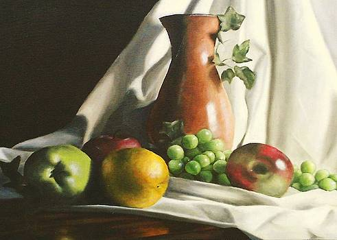 Fruit Still Life by Lori Keilwitz