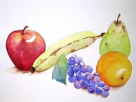 Fruit Still Life by Tara Bennett