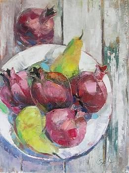 Fruits in vintage by GALA Koleva
