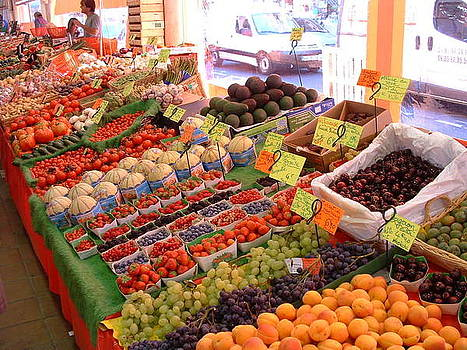 Fruits of the Fields of France by Emerald GreenForest
