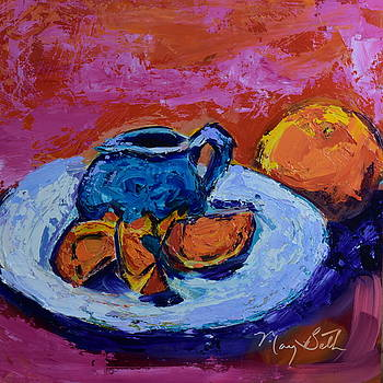 Fruity Plate by Mary Beth Harrison