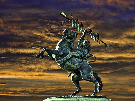 FSU's Unconquered Renegade and Osceola by Frank Feliciano