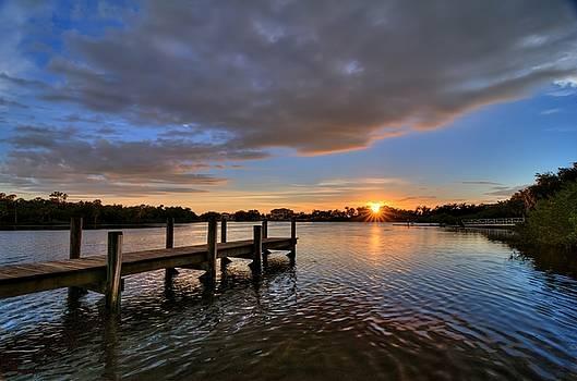 Ft. Hamer Sunset 01 by Jonathan Sabin