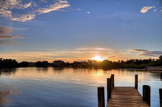 Ft. Hamer Sunset 06 by Jonathan Sabin