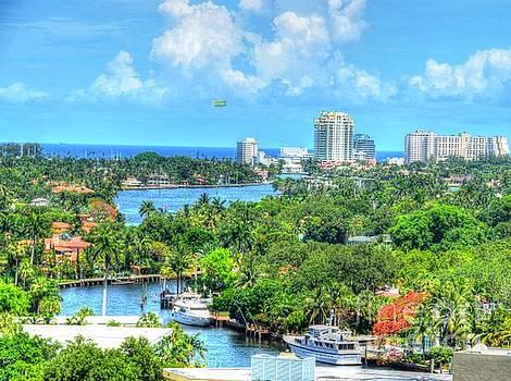 Ft. Lauderdale Waterway by Debbi Granruth