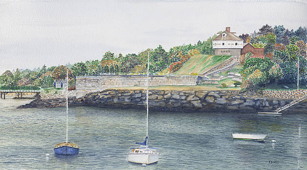 Ft McClary Maine by Tom Dorsz
