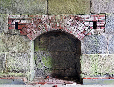 Ft Warren Fireplace by Kevin Felts