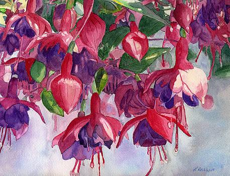 Fuchsia Frenzy by Lynne Reichhart