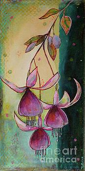 Fuchsias by Turkan Ilkdemirci