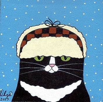 Fudd Hat Cat by Olga Linville