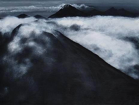 Fuego Volcano by Patricia Ann Dees
