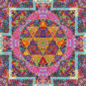 Fulfillment Mandala by Julian Venter