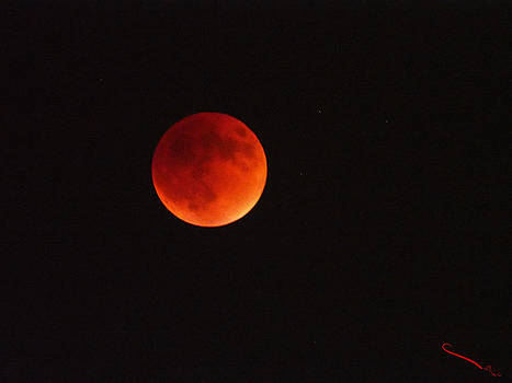 Full Blood Moon Eclipse  by SM Shahrokni