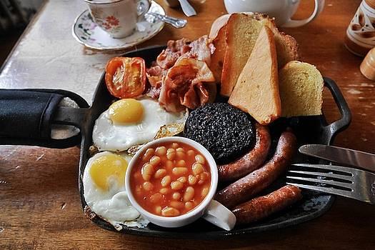 Full British Breakfast in Scotland by Steffani Cameron