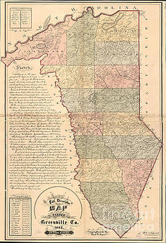 Dale Powell - Full Descriptive Map of Greenville 1882